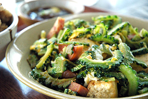 沖縄チャンプルー料理は日替わりで